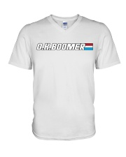 OK Boomer- American Hero Editon V-Neck T-Shirt thumbnail