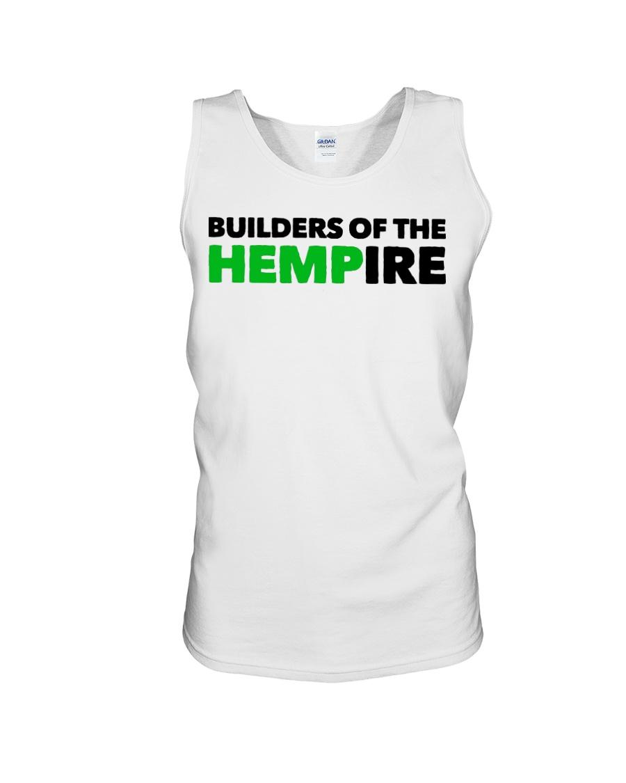 Builders Of The Hempire T Shirt Unisex Tank