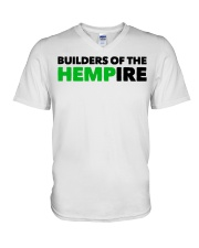 Builders Of The Hempire T Shirt V-Neck T-Shirt thumbnail