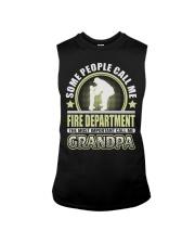 CALL ME FIRE DEPARTMENT GRANDPA JOB SHIRTS Sleeveless Tee thumbnail