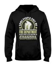 CALL ME FIRE DEPARTMENT GRANDPA JOB SHIRTS Hooded Sweatshirt thumbnail