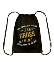 IT IS GROSS THING COOL SHIRTS Drawstring Bag thumbnail