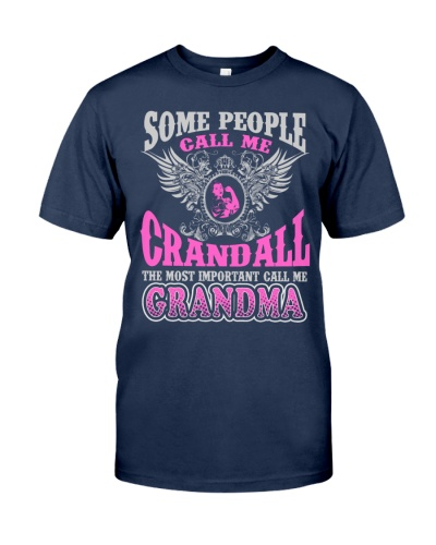 CALL ME CRANDALL GRANDMA THING SHIRTS