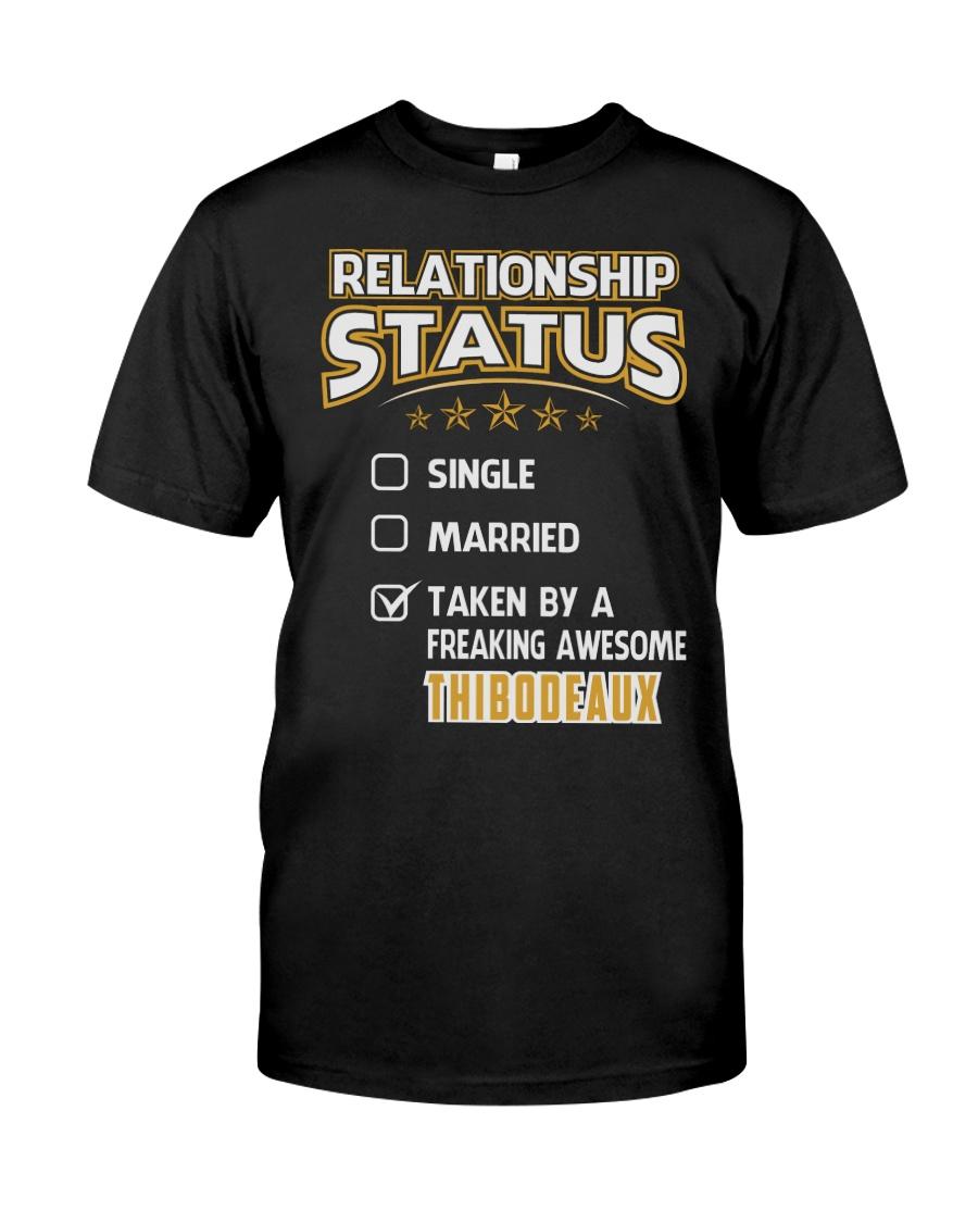 TAKEN BY THIBODEAUX THING SHIRTS Classic T-Shirt