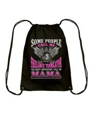 CALL ME FREELANCE TRANSLATOR MAMA JOB SHIRTS Drawstring Bag thumbnail