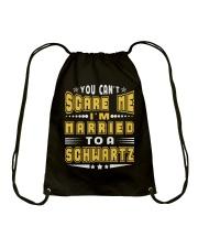 I AM MARRIED SCHWARTZ NAME SHIRTS Drawstring Bag thumbnail