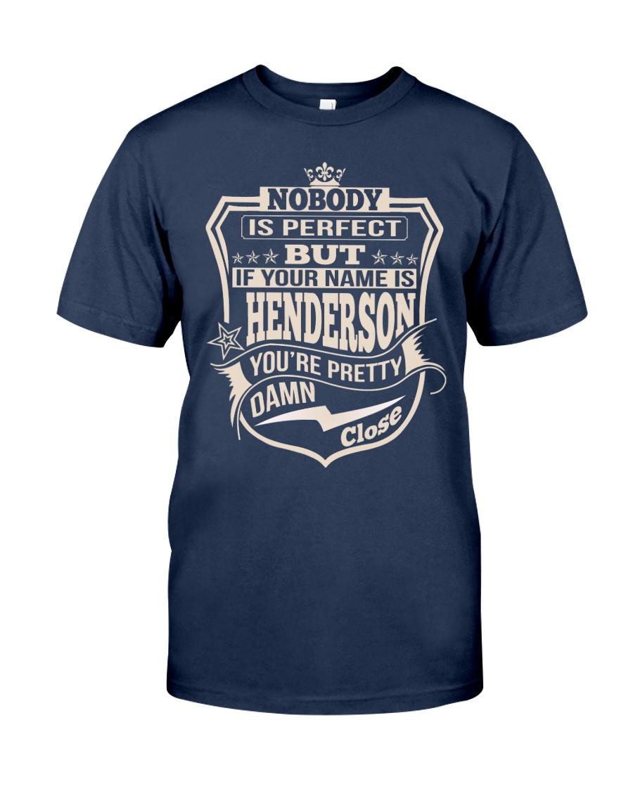 NOBODY PERFECT HENDERSON THING SHIRTS Classic T-Shirt