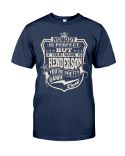 NOBODY PERFECT HENDERSON THING SHIRTS Classic T-Shirt front