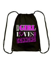 GIRL LOVES HER CONNORS SHIRTS Drawstring Bag thumbnail