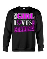 GIRL LOVES HER CONNORS SHIRTS Crewneck Sweatshirt thumbnail