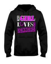 GIRL LOVES HER CONNORS SHIRTS Hooded Sweatshirt thumbnail