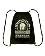 CALL ME FIRST RESPONDER GRANDPA JOB SHIRTS Drawstring Bag thumbnail