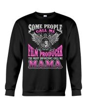 CALL ME FILM PRODUCER MAMA JOB SHIRTS Crewneck Sweatshirt thumbnail