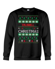CALDWELL FAMILY CHRISTMAS  THING SHIRTS Crewneck Sweatshirt front