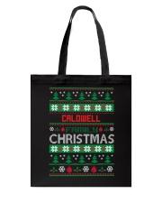 CALDWELL FAMILY CHRISTMAS  THING SHIRTS Tote Bag thumbnail