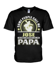 CALL ME JOSE PAPA THING SHIRTS V-Neck T-Shirt tile