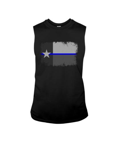 Blue Line Texas State Flag