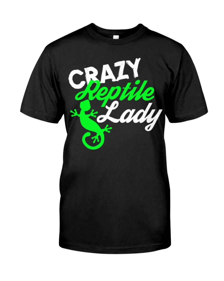 Reptiles Reptile Lady Gecko Lizards Gift Funny shi Classic T-Shirt