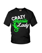 Reptiles Reptile Lady Gecko Lizards Gift Funny shi Youth T-Shirt thumbnail