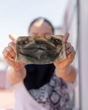 Love Pug Cloth face mask aos-face-mask-lifestyle-07