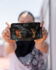 Love Dobermann Cloth face mask aos-face-mask-lifestyle-07