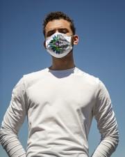 Hippie Lifestyle FM Cloth face mask aos-face-mask-lifestyle-11
