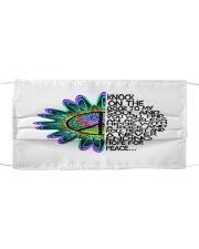 Hippie Lifestyle FM Cloth face mask front