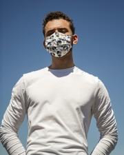 Love Berner Sennenhund Cloth face mask aos-face-mask-lifestyle-11