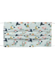 Love Parrots And Toucans Cloth face mask front