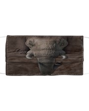 Love Elephant Cloth face mask front