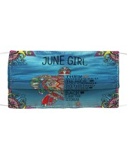 June Girl Cloth face mask front