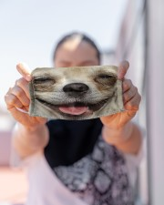Love Chihuahua Cloth face mask aos-face-mask-lifestyle-07