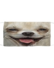 Love Chihuahua Cloth face mask front