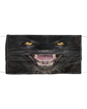 Love Panther Cloth face mask front