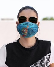 Pisces Girl Cloth face mask aos-face-mask-lifestyle-02