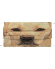 Love Labrador Cloth face mask front