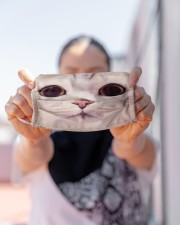 Funy Face Cat Cloth face mask aos-face-mask-lifestyle-07