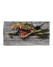 Love Dinosaur Cloth face mask front