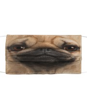Love Pug Cloth face mask front
