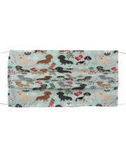Love Dog Cloth face mask front