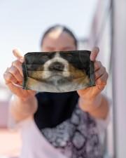 Love Dog Cloth face mask aos-face-mask-lifestyle-07