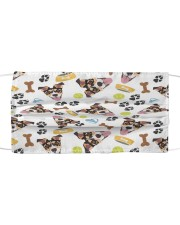 Love Jack Russell Terrier Cloth face mask front