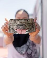 Love Pitbull Cloth face mask aos-face-mask-lifestyle-07
