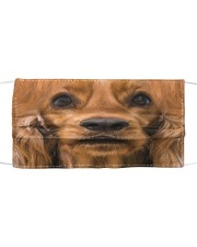 Love Spaniel English Cocker Cloth face mask front