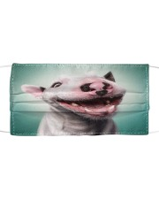 Funy Face Dog Cloth face mask front