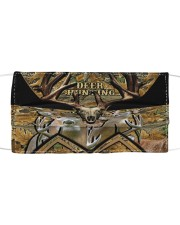Love Deer Hunting Cloth face mask front