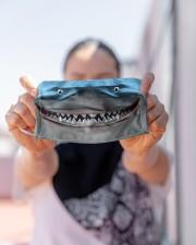 Love Shark Cloth face mask aos-face-mask-lifestyle-07
