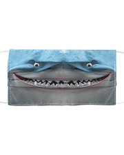 Love Shark Cloth face mask front