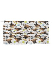 Love Boxer Dog Cloth face mask front
