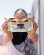 Love Shiba Inu Cloth face mask aos-face-mask-lifestyle-07
